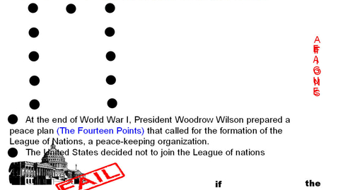 Thumbnail for entry Hist7 Ch 6 WW1 End League of Nations