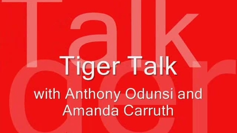 Thumbnail for entry Tiger Talk March 5, 2010