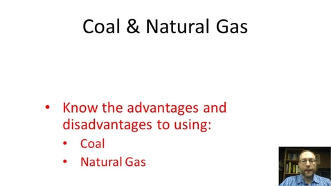 Thumbnail for entry Coal and Natural Gas
