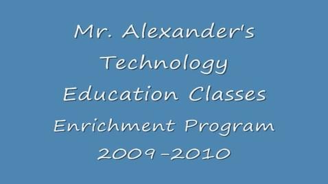 Thumbnail for entry VMS Mr. Alexander EP 2009-2010