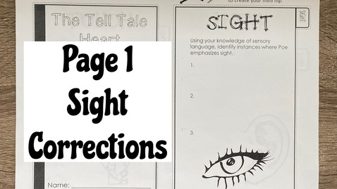Thumbnail for entry Page 1 - Sight