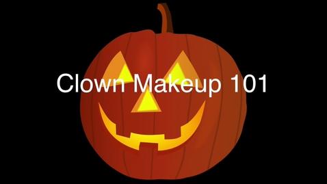 Thumbnail for entry Clown Makeup 101 | JenEm Show