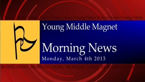 Thumbnail for entry 03-01-2013 Morning Show
