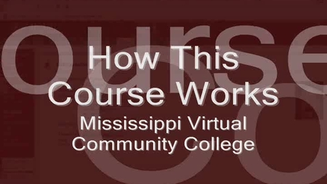 Thumbnail for entry How This Course Works