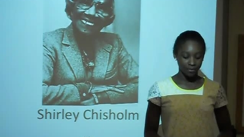 Thumbnail for entry Shirley Chisholm
