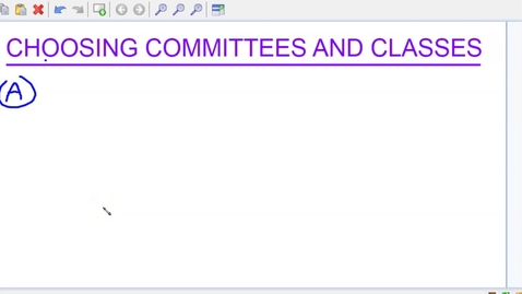 Thumbnail for entry Committees and classes video