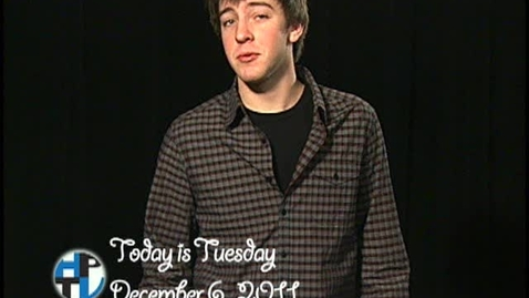 Thumbnail for entry Tuesday, December 6, 2011