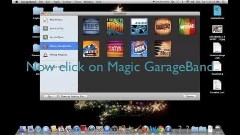 Thumbnail for entry How GarageBand Works