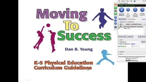 Thumbnail for entry Moving To Success: Physical Education Assessment