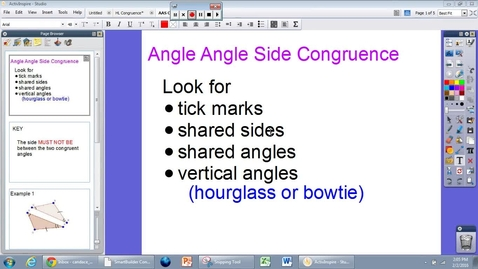 Thumbnail for entry G.6 Module 4: AAS Congruence