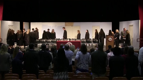 Thumbnail for entry National Honor Society Induction Ceremony 2018