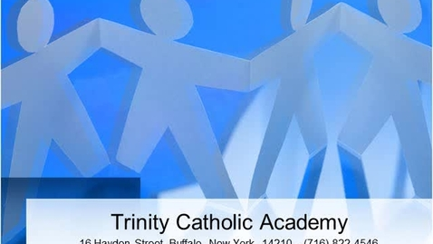 Thumbnail for entry www.trinitycatholicacademy.net - Introduction Video