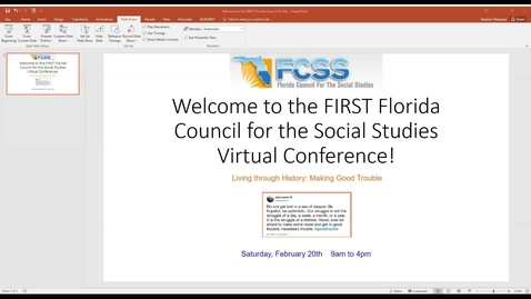 Thumbnail for entry FCSS 2020 Virtual Conference Morning Keynote: Joe Schmidt, Maine DOE
