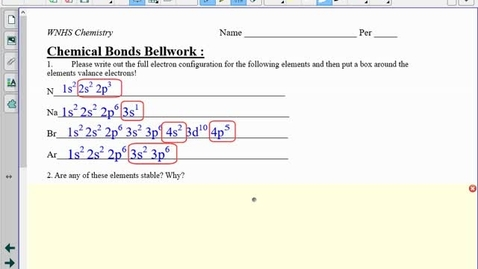 Thumbnail for entry Ionic Bonds Notes #1 : Binary Naming