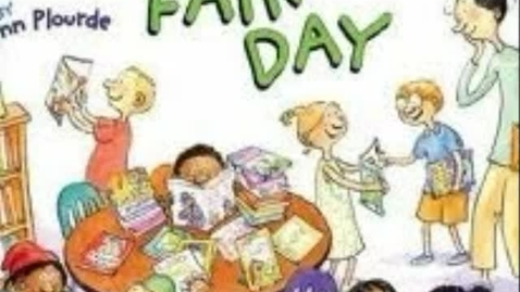 Thumbnail for entry Book Fair Day