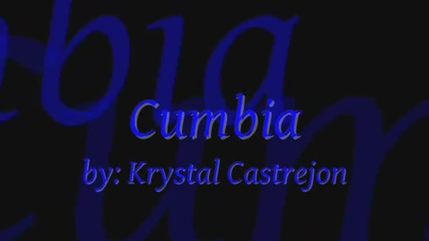 Thumbnail for entry cumbia spanish project