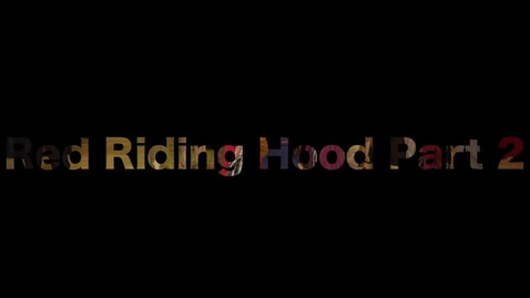 """Thumbnail for entry Missoula Children's Theatre Presents """"Red Riding Hood"""" 2015 Part 2"""
