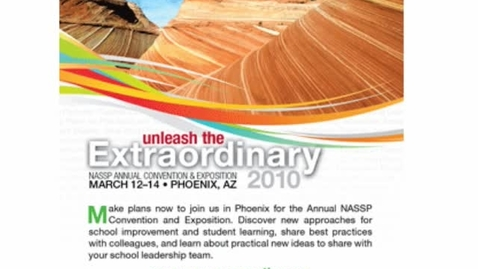 Thumbnail for entry 2010 NASSP Convention Promo