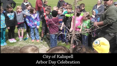 Thumbnail for entry Arbor Day Celebration 2015