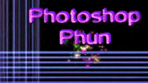 Thumbnail for entry photoshop Phun Lesson 4 - Make Your Own Brushes