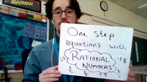 Thumbnail for entry One step with rational numbers