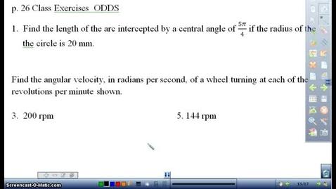 Thumbnail for entry p. 26 CE 1-9 Trigonometry HW Day 4