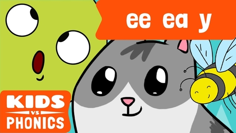 Thumbnail for entry EE , EA and Y | Similar Sounds | Sounds Alike | How to Read | Made by Kids vs Phonics