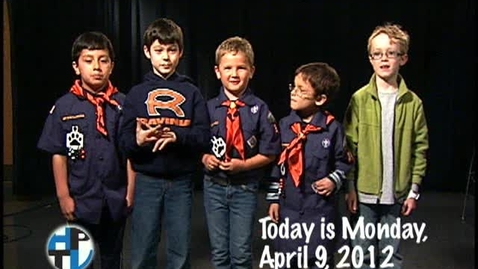 Thumbnail for entry Monday, April 9, 2012