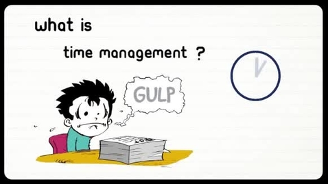 Thumbnail for entry Thinking Skills Time Management