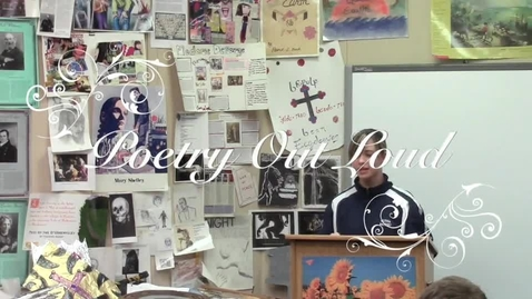 Thumbnail for entry Poetry Out Loud