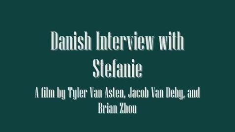Thumbnail for entry Stefanie - Danish