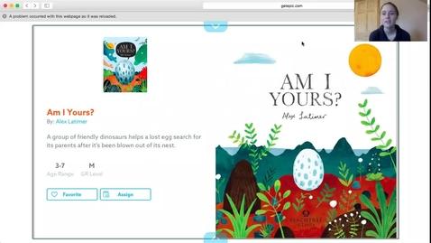 Thumbnail for entry Dinosaur read aloud
