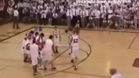 Thumbnail for entry 2008 MSHS Redmen Basketball vs. Negaunee