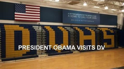 Thumbnail for entry President Barack Obama visits Desert Vista