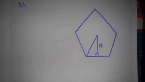 Thumbnail for entry Area of a Regular Pentagon and Regular Octagon