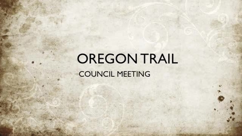 Thumbnail for entry Oregon Trail Council Meeting 2012