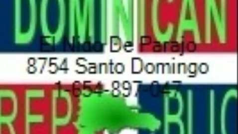 Thumbnail for entry Dominican Republic Menu