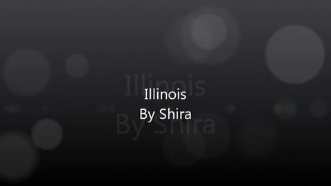 Thumbnail for entry Shira Explains Illinois