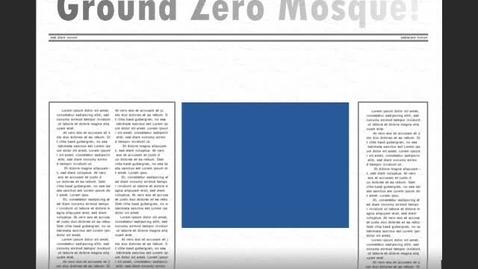 Thumbnail for entry Ground Zero Mosque