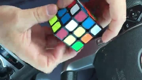 Thumbnail for entry Mr. Laird Solving Rubik's Cube in 55 sec.