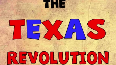 Thumbnail for entry Texas Revolution