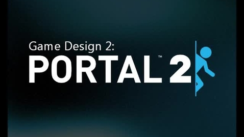 Thumbnail for entry Game Design 2 - Portal Puzzle Maker