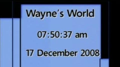 Thumbnail for entry Wayne's World 12/17/08
