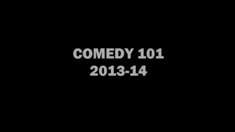 Thumbnail for entry Comedy 101