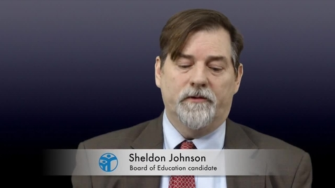 Thumbnail for entry Ladue Board of Education Candidate: Sheldon Johnson