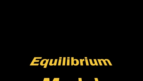 Thumbnail for entry LeChatelier's Principle with Equilibrium Model