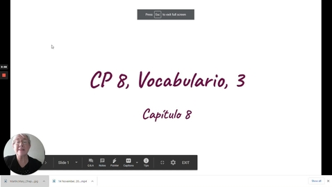 Thumbnail for entry CP 8 VOCABULARIO 3
