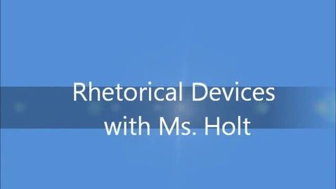 Thumbnail for entry Rhetorical Appeals- Pathos