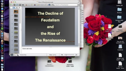 Thumbnail for entry Rise of the Renaissance Lecture