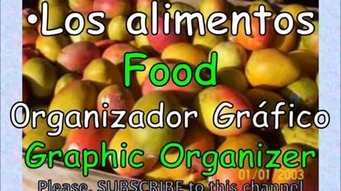 Thumbnail for entry Food in Spanish - Los alimentos